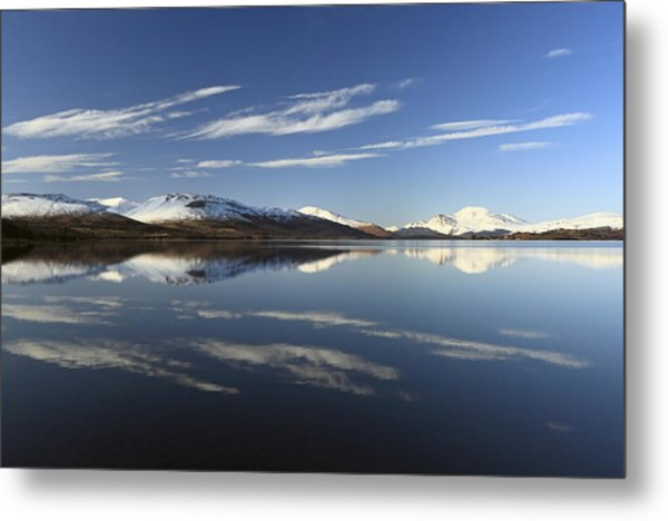 Loch Lomond Reflection Metal Print