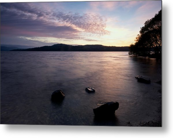 Loch Lomond Sunrise Metal Print