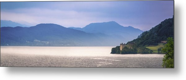 Loch Ness And Urquhart Castle Metal Print