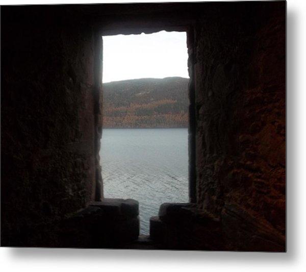 Loch Ness Portal Metal Print