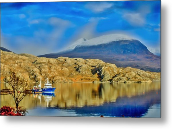 Loch Shieldaig In Assynt In The Scottish Highlands Metal Print by Tylie Duff