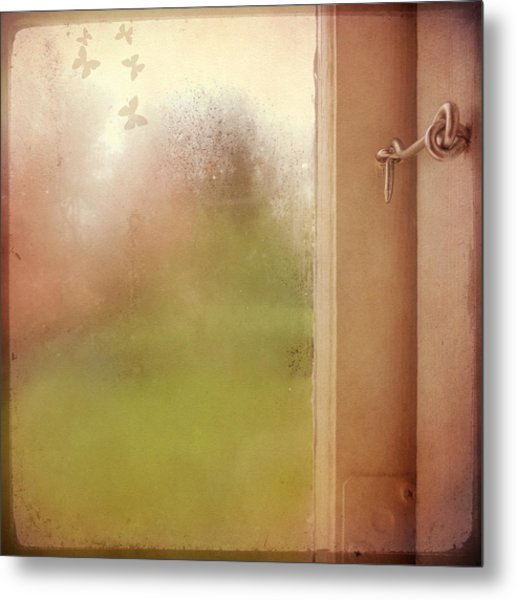 Metal Print featuring the photograph Locked by Sally Banfill