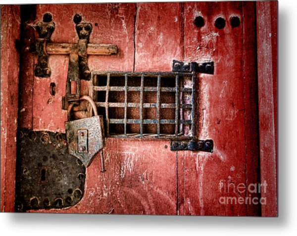 Locked Up Metal Print