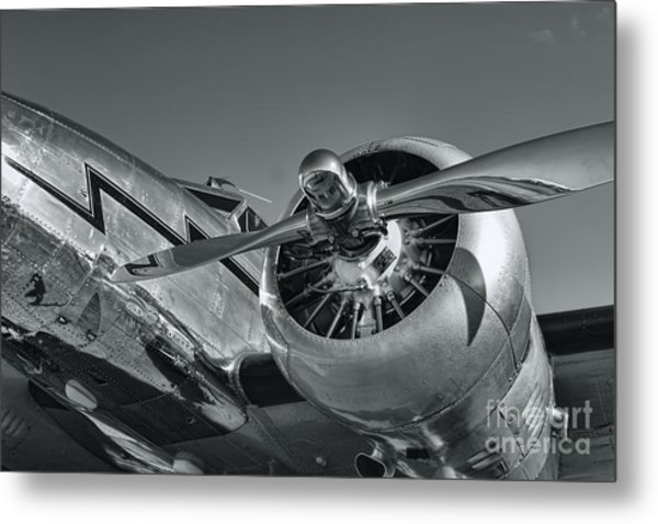 Lockheed 12a Electra Junior  Metal Print