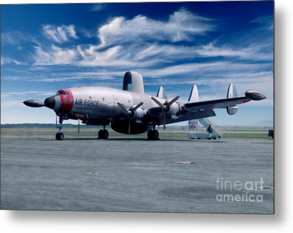 Lockheed Ec-121 Warning Star Early Warning Aircraft Metal Print