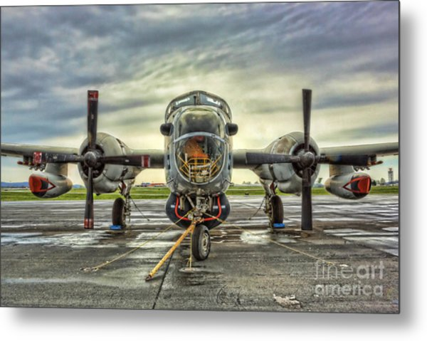 Lockheed P-2 Neptune Gunship Metal Print