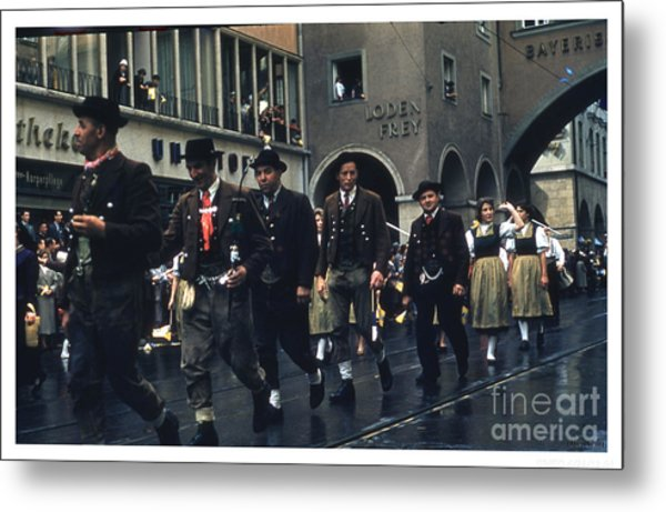 Loden Frey Parade Metal Print by Theo Bethel