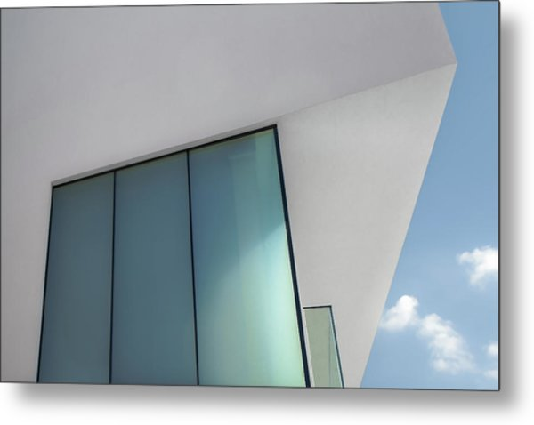 Loft With A View Metal Print by Gilbert Claes