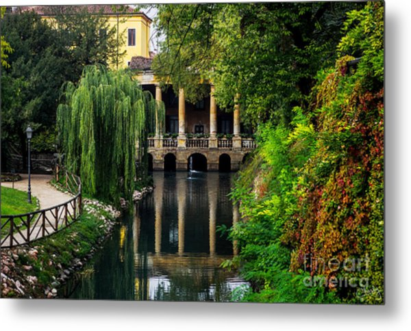 Loggia Valmarana On The Seriola Metal Print