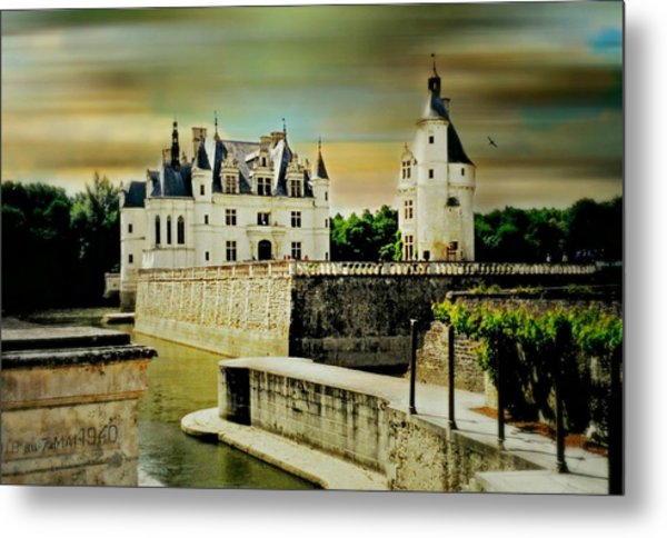 Loire Valley Chateau Metal Print