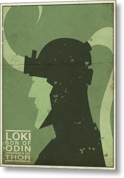 Loki - Son Of Odin Metal Print