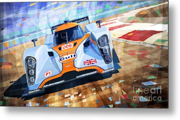 Lola Aston Martin Lmp1 Racing Le Mans Series 2009 Metal Print