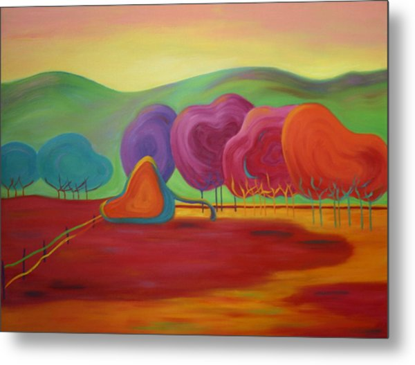 Lollipop Ranch Metal Print