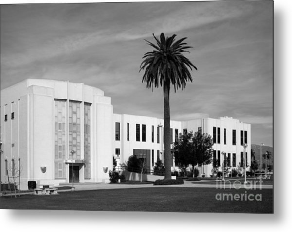 Loma Linda University Library Metal Print by University Icons