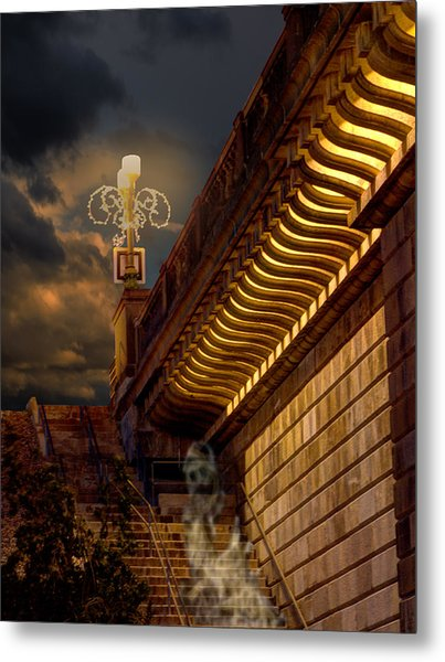 London Bridge Spirits Metal Print