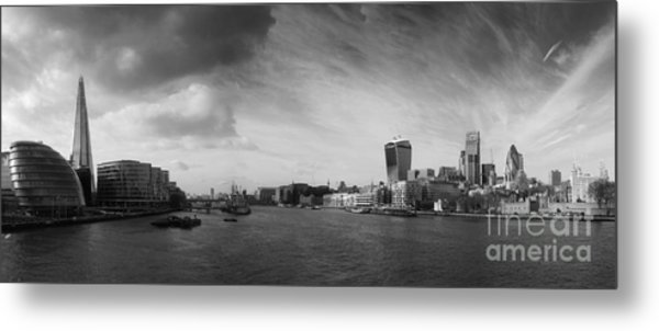 London City Panorama Metal Print