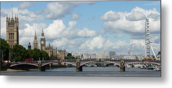 London Panorama Metal Print