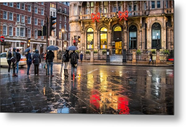 Reflections Of London Metal Print