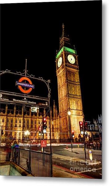 London Scene 2 Metal Print
