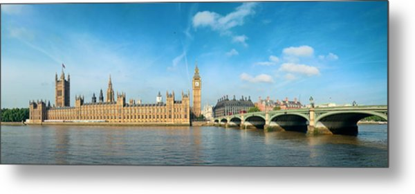 London Skyline Metal Print