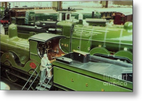 London Southwestern Locomotive Metal Print