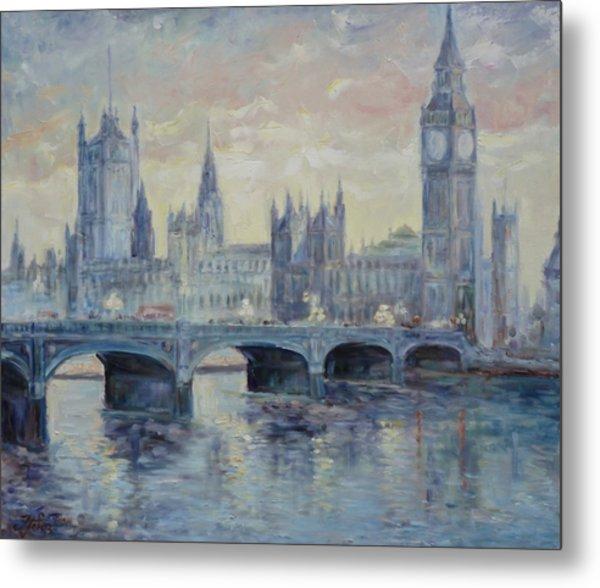 London Westminster Bridge Metal Print
