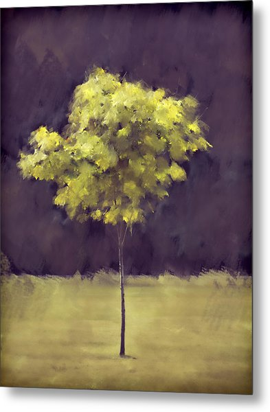 Lone Tree Willamette Valley Oregon Metal Print