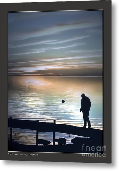 Lonely Shore Metal Print