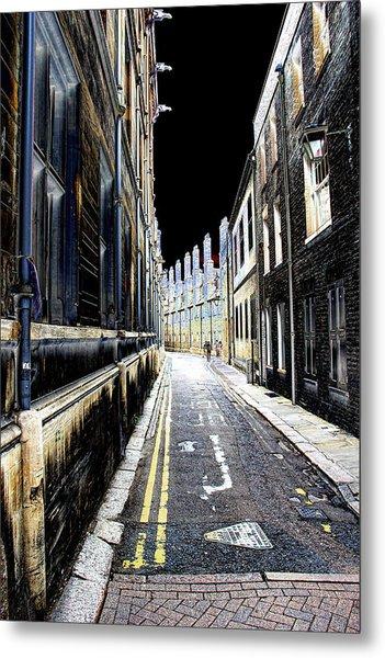 Lonely Street Metal Print