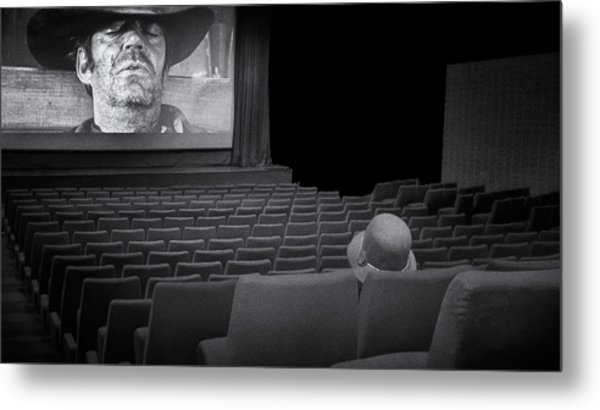 Lonely...at The Movies... Metal Print