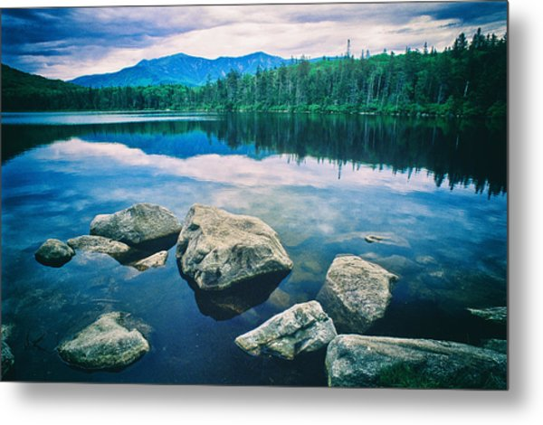 Metal Print featuring the photograph Lonesome Lake Nh by Michael Hubley