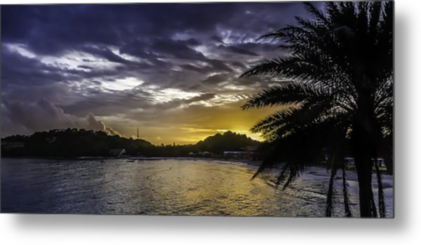 Long Bay Sunrise 1 Metal Print
