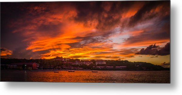 Long Bay Sunset Metal Print