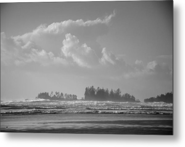 Long Beach Landscape  Metal Print