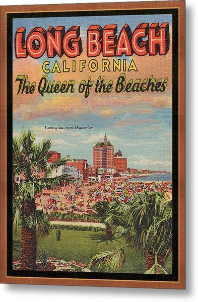 Long Beach Metal Print