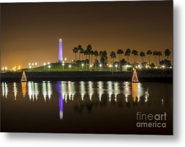 Long Beach Lighthouse Metal Print
