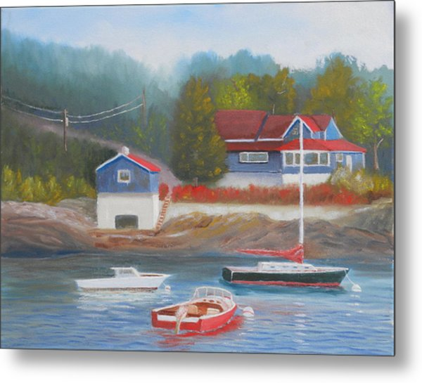 Long Cove Metal Print