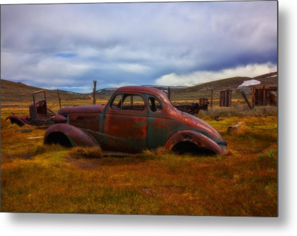 Long Forgotten Metal Print
