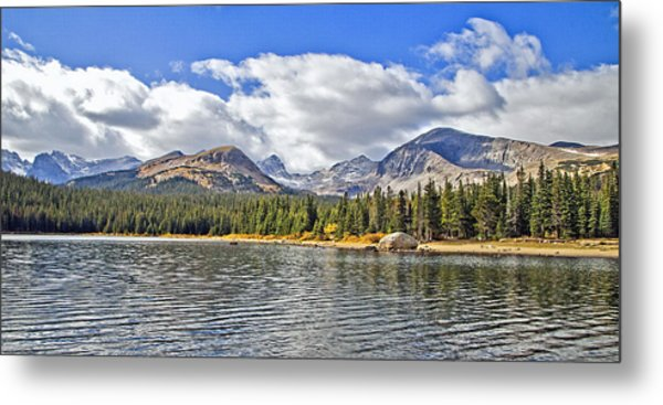 Long Lake Colorado Metal Print