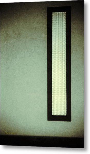 Long Narrow Window Metal Print