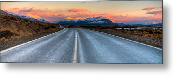 Long Road Metal Print by Roman St