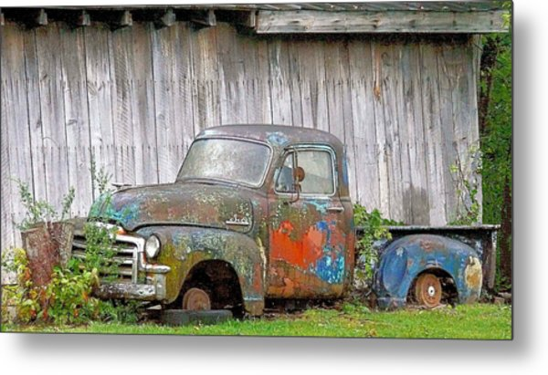 Long Term Parker Metal Print