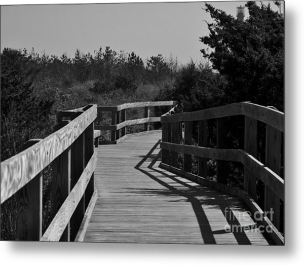 Long Walk Metal Print
