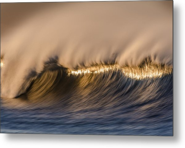 Long Windy Crest  73a0468 Metal Print