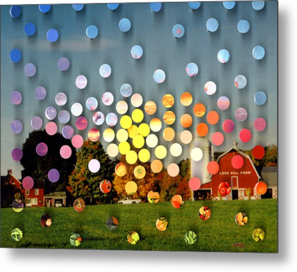 Longhillfarm Sunsetsegue3 Metal Print by Irmari Nacht