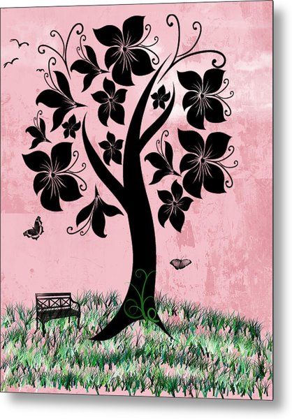 Longing For Spring Metal Print