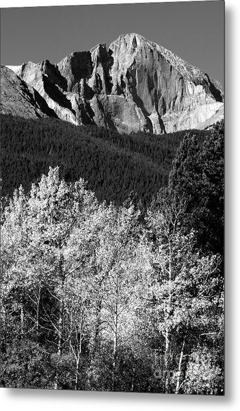 Longs Peak 14256 Ft Metal Print