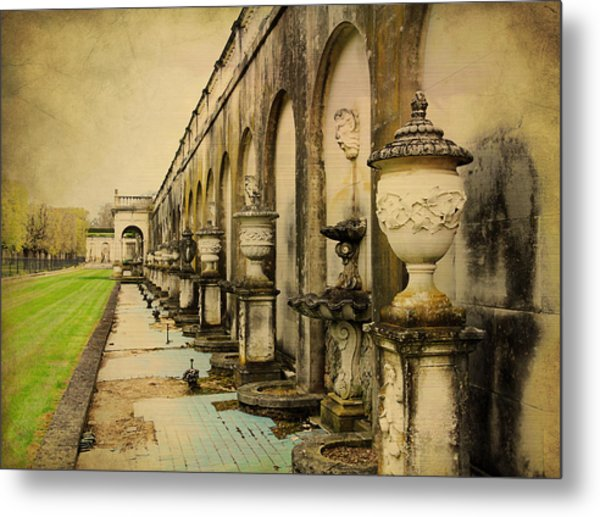 Longwood Gardens Fountains Metal Print