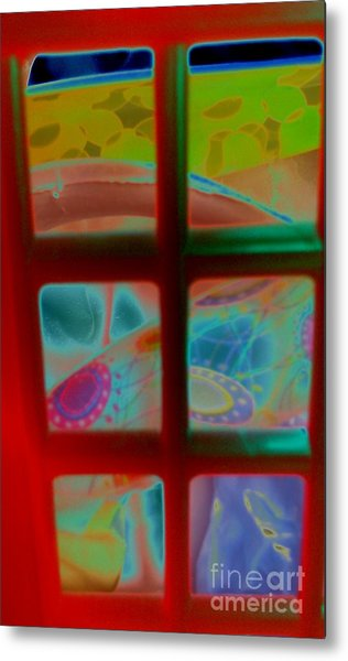 Look Through Any Window Metal Print