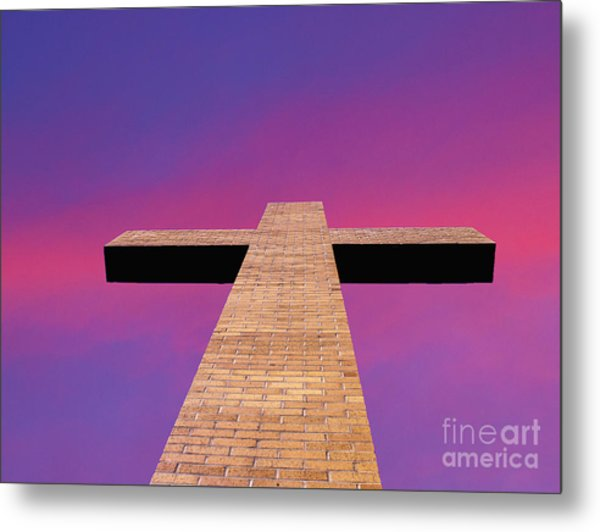 Look To The Heaven's Metal Print